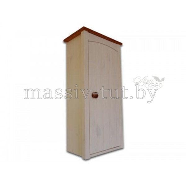 Шкаф навесной Паула Д1142, АртСквер, массив, мебель
