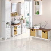 Шкаф-пенал Паула Д1138, АртСквер, массив, мебель 2
