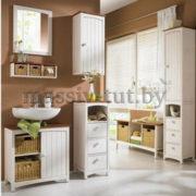 Шкаф-пенал Паула Д1138, АртСквер, массив, мебель 3