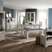 Шкаф с витриной Мэдисон Д1148, АртСквер, массив, мебель 3