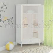 Шкаф угловой Сиело 77320, АртСквер, массив, мебель 3