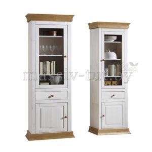 """Шкаф для посуды """"Бостон G"""" из массива сосны"""