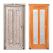 Дверь Д2-гл./ст. массив дуба ПМЦ