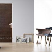 д66 дверь межкомнатная щитовая ПМЦ с метал профилем