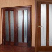 ол102 дверь межкомнатная ПМЦ расспашная в интерьере