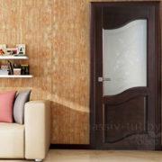 ол14 дверь остекленная ПМЦ в интерьере