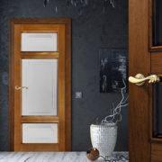 ол55-3 дверь остекленная ПМЦ