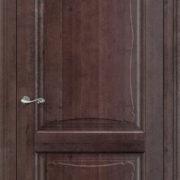 ол6-2 дверь глухая ПМЦ мореный дуб