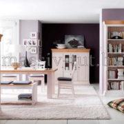 Шкаф для посуды Бостон А 1М, гостиная, массив, АртСквер, столовая 3