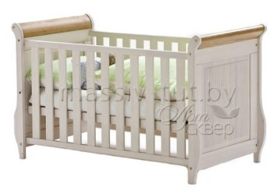"""Кровать детская """"Хельсинки Бейби"""" из массива сосны"""