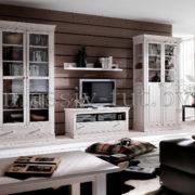 Стол журнальный Бостон, гостиная, АртСквер, мебель из массива 4