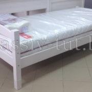 Кровать Гольф 90, АртСквер, массив, мебель 2