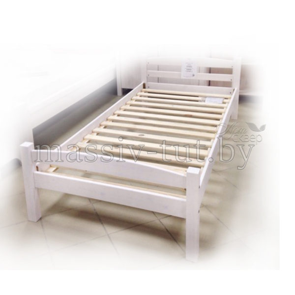 Кровать Гольф 90, АртСквер, массив, мебель