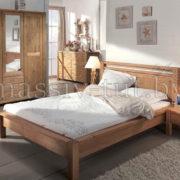 Кровать Фьорд 140, АртСквер, массив, мебель 2