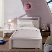 Кровать Фьорд 90, АртСквер, массив, мебель, детская 1