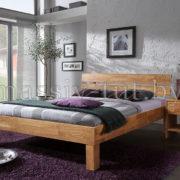 Кровать из массива дуба «Джудит» 90х200 АртСквер 2