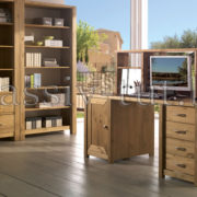 Надстройка для стола Фьорд, АртСквер, массив, мебель 1