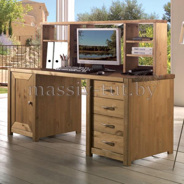 Надстройка для стола Фьорд, АртСквер, массив, мебель