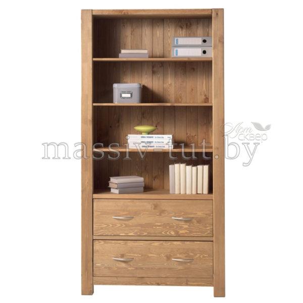 Стеллаж Фьорд 02, АртСквер, массив, мебель