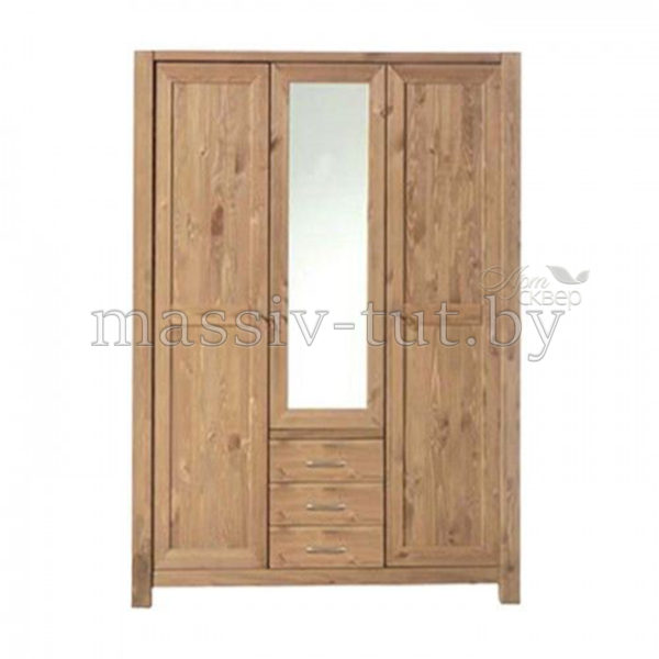 Шкаф Фьорд 123, АртСквер, массив, мебель