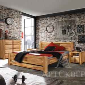 """Кровать из массива дуба """"Валенсия"""" 180х200"""