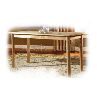 Стол обеденный из массива березы, 61*140