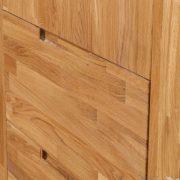 Шкаф 3-х дверный «Сканди» из массива дуба 3