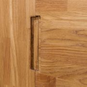 Шкаф 3-х дверный «Сканди» из массива дуба 4