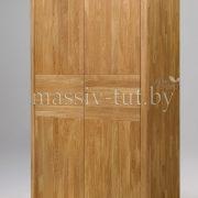 Шкаф из массива дуба «Лозанна» 2-х дверный 1