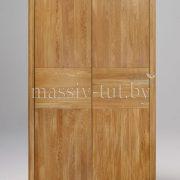 Шкаф из массива дуба «Лозанна» 2-х дверный 3