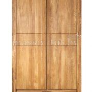 Шкаф из массива дуба «Валенсия» 2-х дверный
