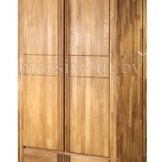 Шкаф из массива дуба «Валенсия» 2-х дверный 2
