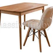 Стол обеденный «Сканди» из массива дуба 2