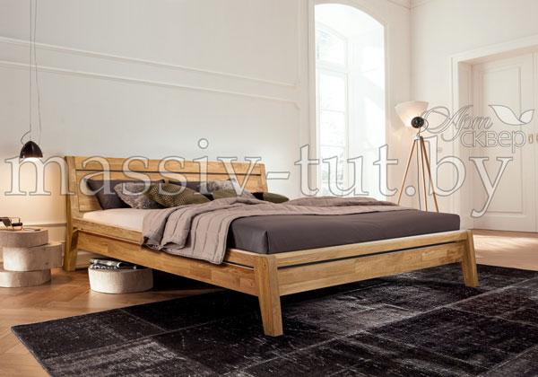 Кровать из массива дуба «Бриджит»