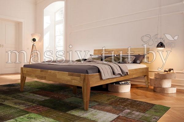 Кровать из массива дуба «Эльке»
