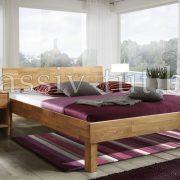 Кровать из дуба «Ева»
