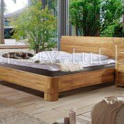 Кровать из массива дуба «Лозанна»