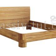 Кровать из массива дуба «Лозанна» 3