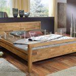Кровать из массива дуба «Некст»