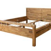 Кровать из массива дуба «Некст» 1