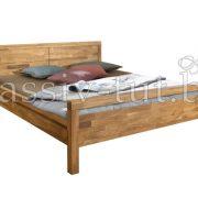 Кровать из массива дуба «Некст» 5