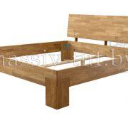 Кровать из массива дуба «Сара» 2