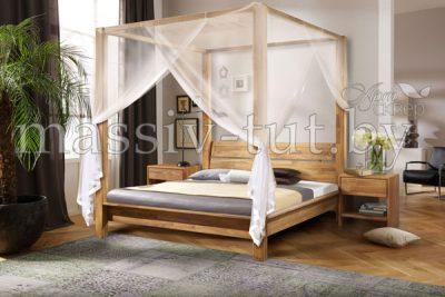 Кровать из массива дуба «Севилья + » 1