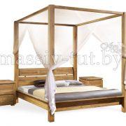 Кровать из массива дуба «Севилья + » 4