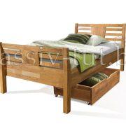 Кровать из массива дуба «Тамара» 9