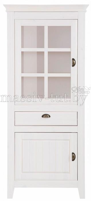 Шкаф с витриной «Роми» Д7187-2 2