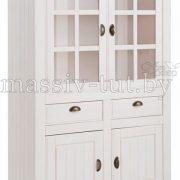 Шкаф с витриной «Роми» Д7187-3 1