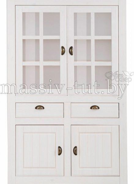 Шкаф с витриной «Роми» Д7187-3