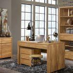 Мебель для кабинета из массива дуба