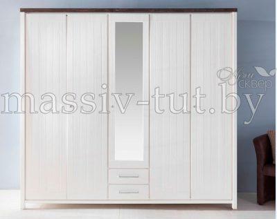 Шкаф 5-ти дверный «Малибу» Д7112-1
